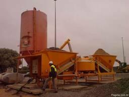 Мобильный бетонный завод Sumab K-40 (40 м3/час) Швеция - фото 6