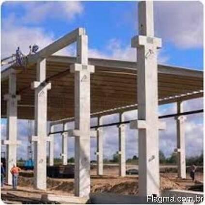 Оборудование для производства бетонных колонн большой длины