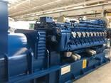 Б/У газовый двигатель MWM TCG 2020 V20, 2000 Квт, 2018 г. в. - photo 2