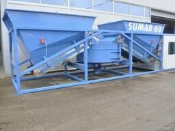 Мобильный бетонный завод Sumab K-60 (60 м3/ч) Швеция - фото 6