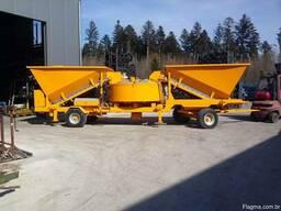 Мобильный бетонный завод Sumab LT 1800 (60 м3/час) Швеция - фото 2