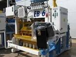Блок машина Мобильный для производства бордюров, блоков Е6 - фото 1